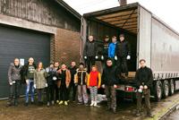 Тернопільська та Рівенська області одержали гуманітарну допомогу від української громади та неурядових організацій Данії