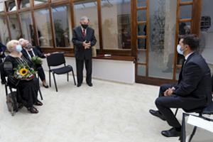 Зустріч Президента України з українцями Словаччини
