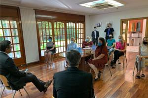 Міністр закордонних справ України зустрівся з українцями Іспанії