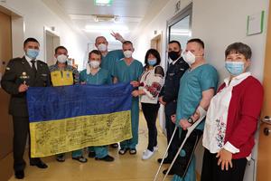 Добровольці відвідали українських військових у берлінському шпиталі