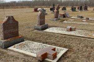 В Канаді осквернили близько 30 українських могил