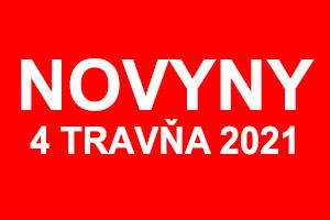 Novyny 4 travňa 2021