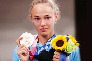 Дар'я Білодід виборола першу медаль для України на Іграх XXXII Олімпіади