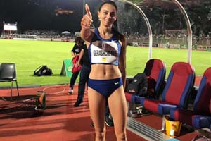 Стрибунка Ірина Геращенко виграла етап Діамантової ліги