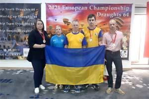 Збірна України стала чемпіоном світу з шашок-64